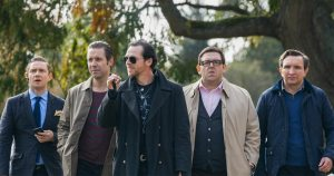 the worlds end, nick frost, simon pegg, edgar wright, greg wetherall, pierce brosnan, alice lowe, steve oram, martin freeman, paddy considine, film, movie, british, pub, movie, release, review, cinema
