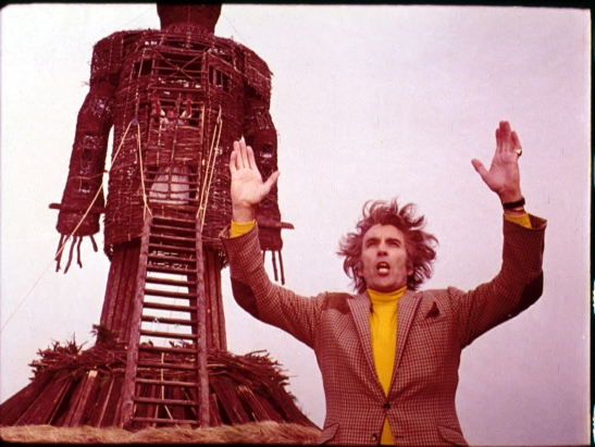 The Wicker Man, Robin Day, Christopher Lee, Film, Interview, Greg Wetherall, Horror, Thriller, Movie, Britt Ekland