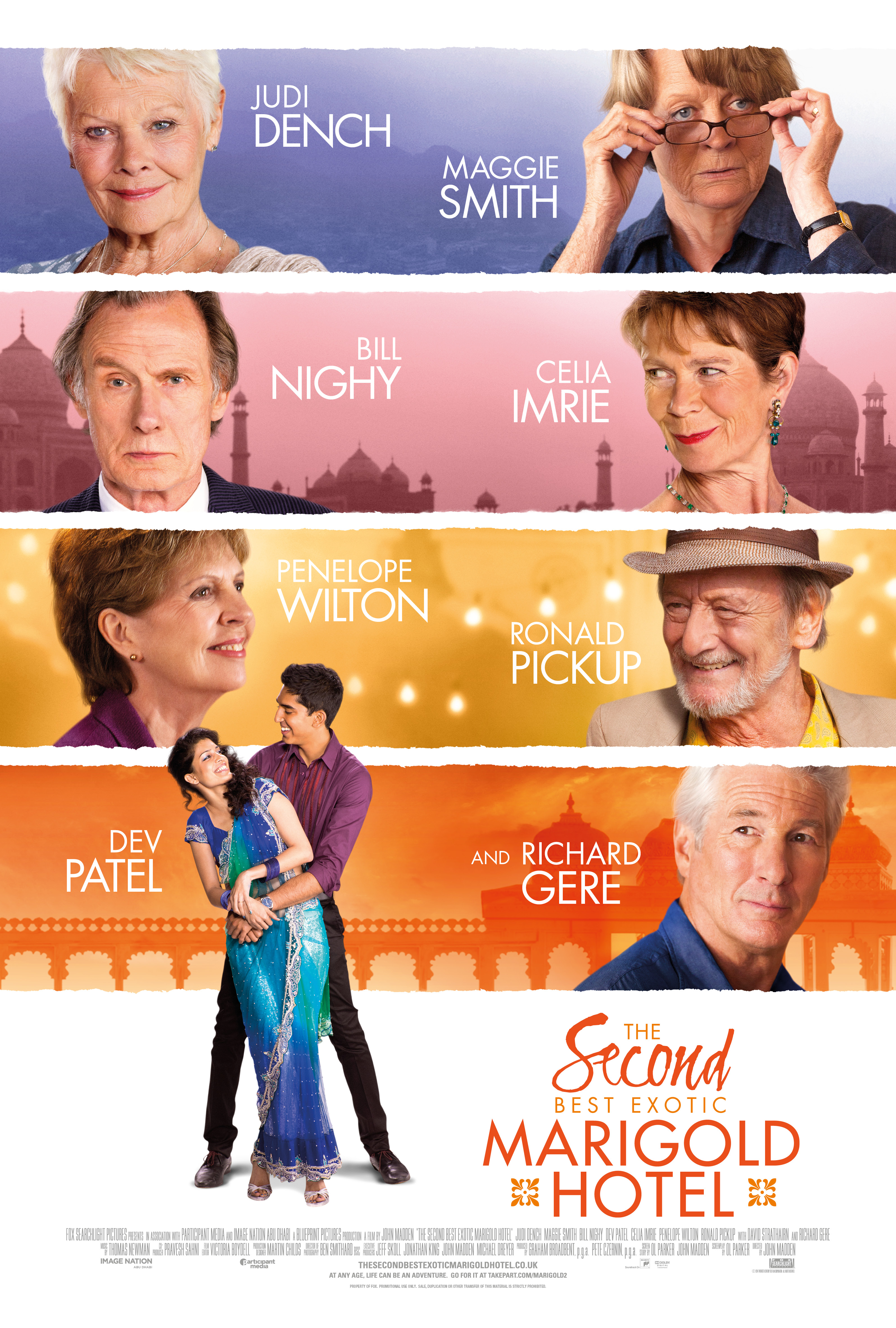 the second best exotic marigold hotel - Yellow Hotel 2015